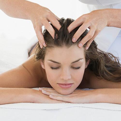 массаж головы жен