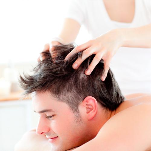 Массаж головы для мужчин